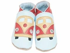 Starchild Camper Van Leather Baby Shoes