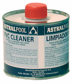 Astral PVC Cleaner - from £7.50 Inc VAT - Buy here!