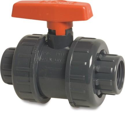 Mega Double Union Ball Valve - AK Type, Imperial