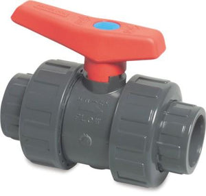 Double Union Ball Valve - Imperial Grey