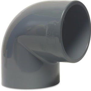 Mega Elbow 90 degrees - Metric Grey