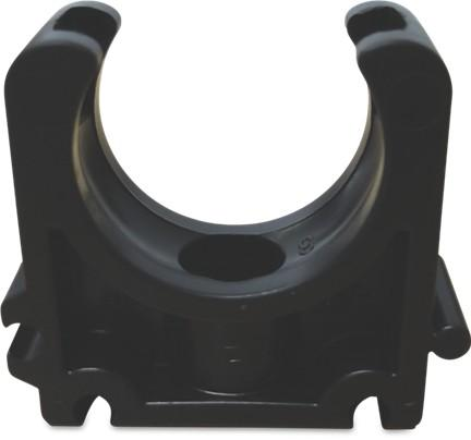 Pipe Clamp - Open - Imperial Black