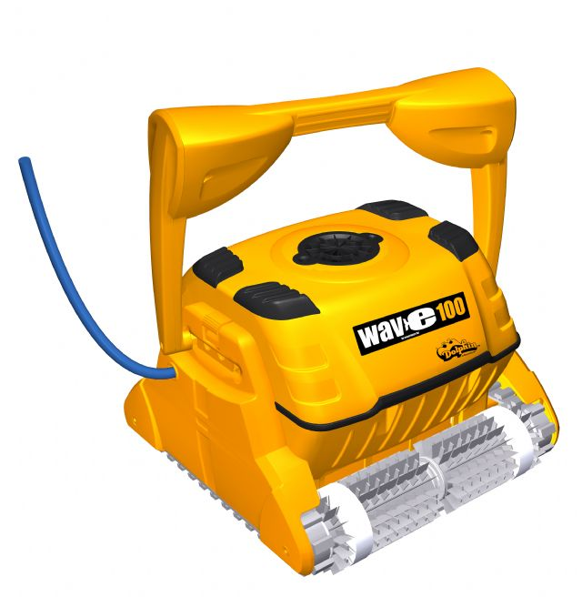 Dolphin Wave 100 pool cleaner @  £2,394 inc VAT - in stock here!