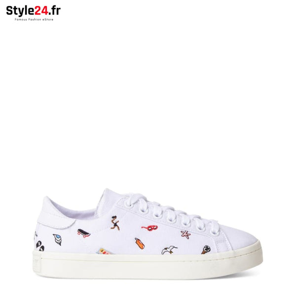 Adidas - COURT VANTAGE Chaussures Sneakers white / 3.5 -30% 50-100 adidas Brand_Adidas brandsdistribution Category_Chaussures www.style24.fr