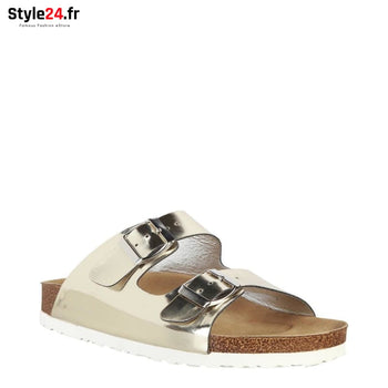 Ana Lublin - AGNETA Chaussures Nu-pieds et Tongs Brand_Ana Category_Chaussures Color_Jaune Gender_Femme Subcategory_Nu-pieds www.style24.fr