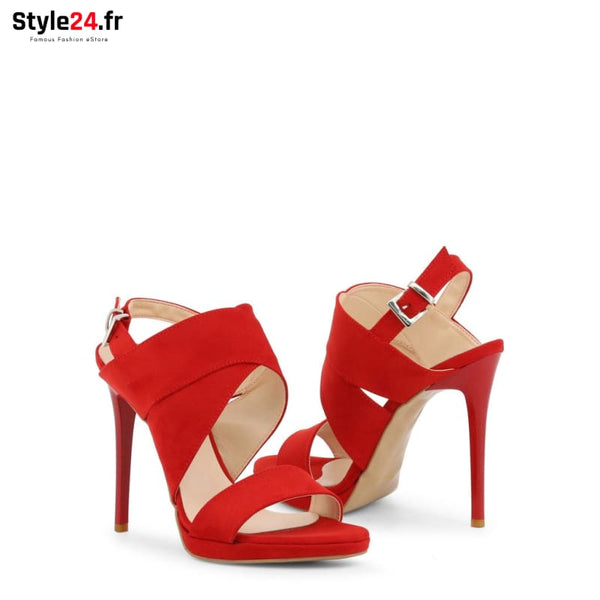 Arnaldo Toscani - 1218021 Chaussures Sandales Brand_Arnaldo Category_Chaussures Color_Rouge Gender_Femme Subcategory_Sandales www.style24.fr
