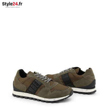 Bikkembergs - FEND-ER_2356 Chaussures Sneakers Brand_Bikkembergs Category_Chaussures Color_Vert Gender_Homme Subcategory_Sneakers