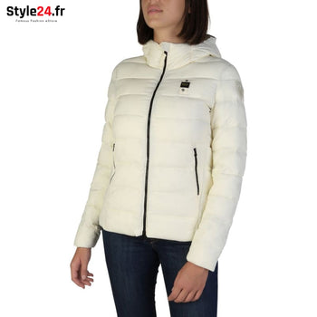 Blauer - 2118 Vêtements Vestes white / S -20% Brand_Blauer Category_Vêtements Color_Blanc Gender_Femme Subcategory_Vestes www.style24.fr