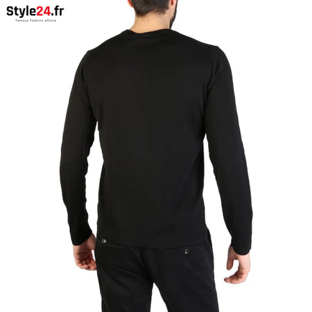 Emporio Armani - 01M66M_0102M Vêtements Pulls Brand_Emporio Category_Vêtements Color_Noir Gender_Homme Subcategory_Pulls www.style24.fr