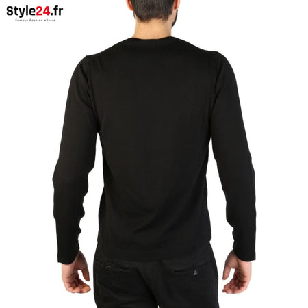 Emporio Armani - 01M67M_0102M Vêtements Pulls Brand_Emporio Category_Vêtements Color_Noir Gender_Homme Subcategory_Pulls www.style24.fr