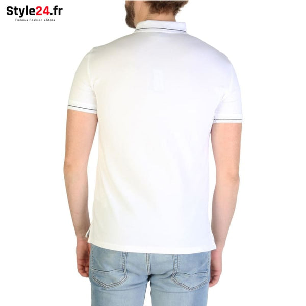 Emporio Armani - 3G1F65 Vêtements Polo Brand_Emporio Category_Vêtements Color_Blanc Gender_Homme Subcategory_Polo www.style24.fr
