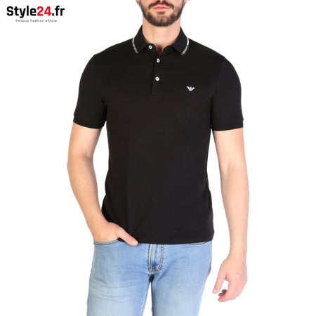 Emporio Armani - 3G1FL4 Vêtements Polo black / S -25% 50-100 Brand_Emporio Category_Vêtements color-black color-noir www.style24.fr