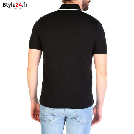 Emporio Armani - 3G1FL4 Vêtements Polo Brand_Emporio Category_Vêtements Color_Noir Gender_Homme Subcategory_Polo www.style24.fr