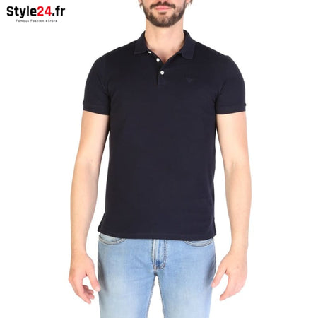 Emporio Armani - 8N1F12 Vêtements Polo blue / S -25% 50-100 Brand_Emporio Category_Vêtements color-blue Color_Bleu www.style24.fr