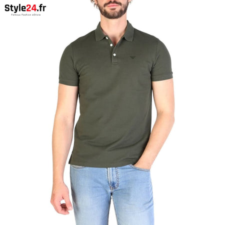 Emporio Armani - 8N1F12 Vêtements Polo green / S -25% 50-100 Brand_Emporio Category_Vêtements color-green Color_Vert www.style24.fr