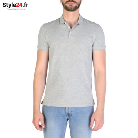 Emporio Armani - 8N1F12 Vêtements Polo grey / S -25% 50-100 Brand_Emporio Category_Vêtements color-grey color-gris www.style24.fr