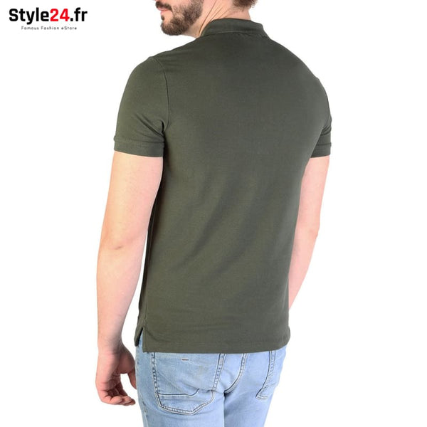 Emporio Armani - 8N1F12 Vêtements Polo Brand_Emporio Category_Vêtements Color_Vert Gender_Homme Subcategory_Polo www.style24.fr