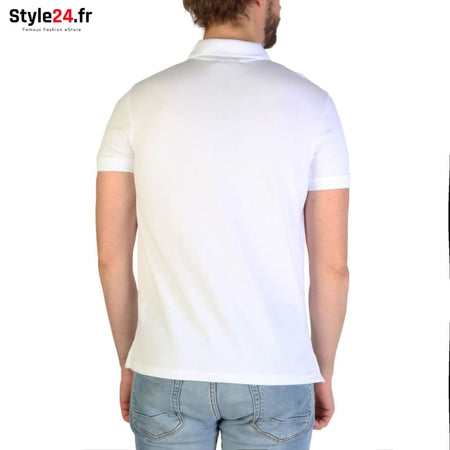 Emporio Armani - 8N1F12 Vêtements Polo Brand_Emporio Category_Vêtements Color_Blanc Gender_Homme Subcategory_Polo www.style24.fr