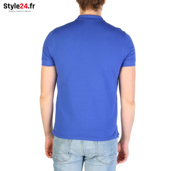 Emporio Armani - 8N1F12 Vêtements Polo Brand_Emporio Category_Vêtements Color_Bleu Gender_Homme Subcategory_Polo www.style24.fr