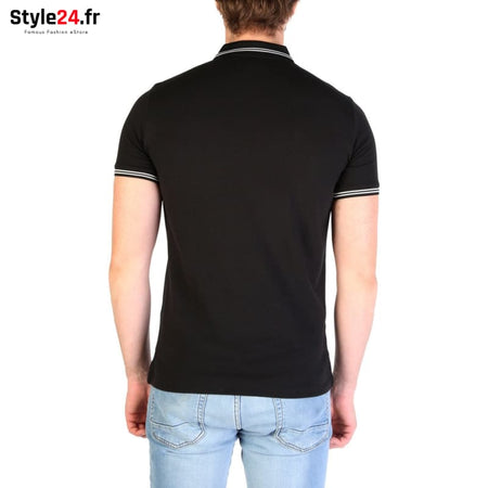 Emporio Armani - 8N1F2B Vêtements Polo Brand_Emporio Category_Vêtements Color_Noir Gender_Homme Subcategory_Polo www.style24.fr