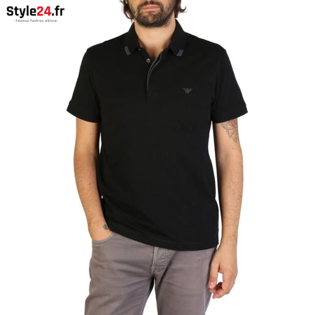 Emporio Armani - 9P461 Vêtements Polo black / S -15% 50-100 Brand_Emporio Category_Vêtements color-black color-noir www.style24.fr