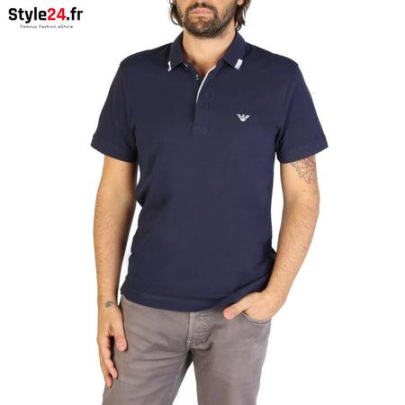 Emporio Armani - 9P461 Vêtements Polo blue / S -15% 50-100 Brand_Emporio Category_Vêtements color-blue Color_Bleu www.style24.fr