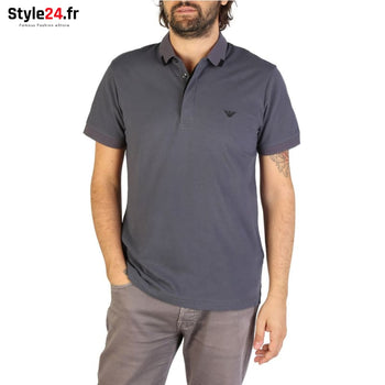 Emporio Armani - 9P461 Vêtements Polo grey / S -15% 50-100 Brand_Emporio Category_Vêtements color-grey color-gris www.style24.fr