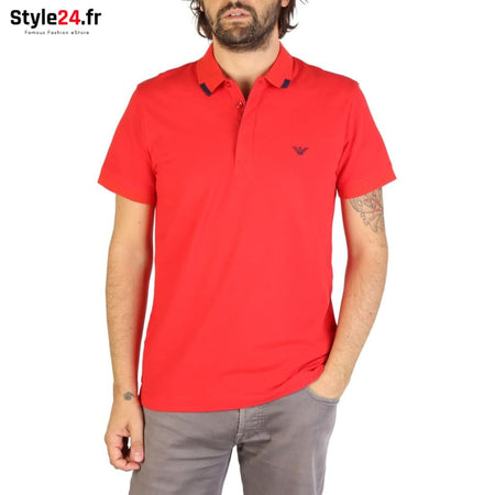 Emporio Armani - 9P461 Vêtements Polo red / S -15% 50-100 Brand_Emporio Category_Vêtements color-red color-rouge www.style24.fr