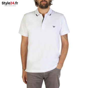 Emporio Armani - 9P461 Vêtements Polo white / S -15% 50-100 Brand_Emporio Category_Vêtements color-blanc color-white www.style24.fr
