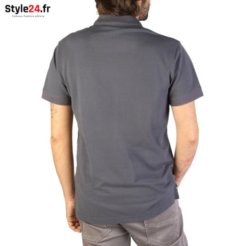Emporio Armani - 9P461 Vêtements Polo Brand_Emporio Category_Vêtements Color_Gris Gender_Homme Subcategory_Polo www.style24.fr