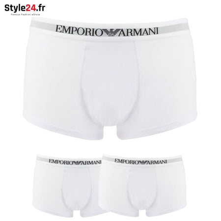 Emporio Armani - CC722-111613 Sous-vêtements Boxers white / S -15% Brand_Emporio Category_Sous-vêtements Color_Blanc Gender_Homme