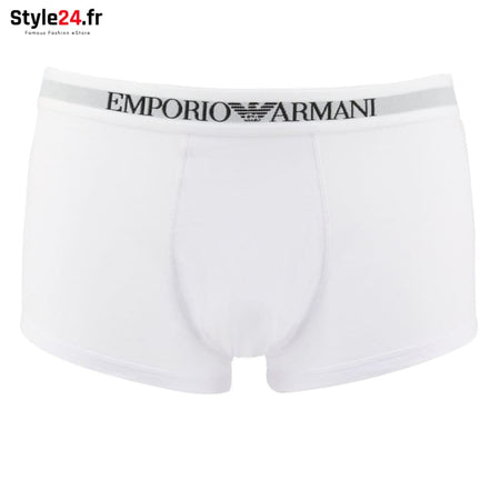 Emporio Armani - CC722-111613 Sous-vêtements Boxers Brand_Emporio Category_Sous-vêtements Color_Blanc Gender_Homme Subcategory_Boxers