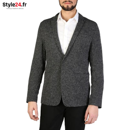 Emporio Armani - S1G610_S1247 Vêtements Veste de costume grey / 50 -75% Brand_Emporio Category_Vêtements Color_Gris Gender_Homme
