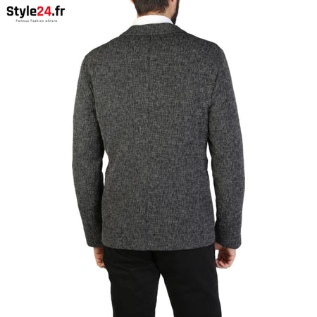 Emporio Armani - S1G610_S1247 Vêtements Veste de costume Brand_Emporio Category_Vêtements Color_Gris Gender_Homme Subcategory_Veste