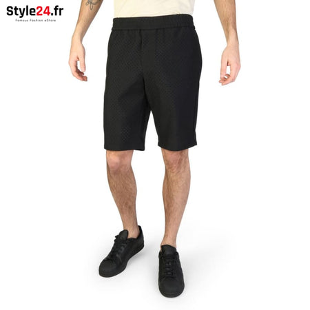 Emporio Armani - S1P030_S1339 Vêtements Bermuda black / 52 -70% Brand_Emporio Category_Vêtements color-black color-noir Color_Noir