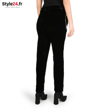 Emporio Armani - S1P03J_S11QJ Vêtements Pantalons Brand_Emporio Category_Vêtements Color_Noir Gender_Femme Subcategory_Pantalons