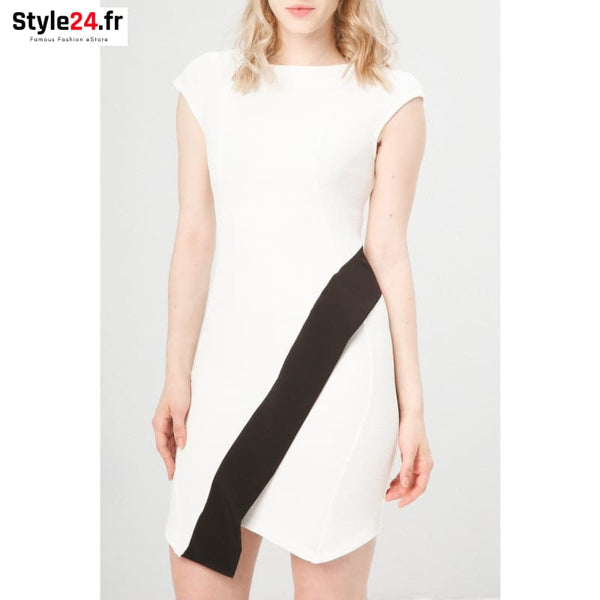 Fontana 2.0 - DULINA Vêtements Robes white / S -75% 20-50 Brand_Fontana Category_Vêtements color-blanc color-white www.style24.fr
