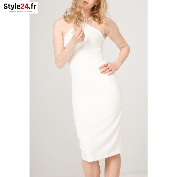 Fontana 2.0 - SELENE Vêtements Robes white / M -80% 20-50 Brand_Fontana Category_Vêtements color-blanc color-white www.style24.fr