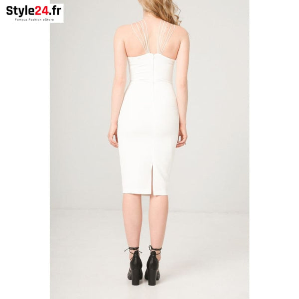 Fontana 2.0 - SELENE Vêtements Robes 20-50 Brand_Fontana Category_Vêtements color-blanc color-white www.style24.fr
