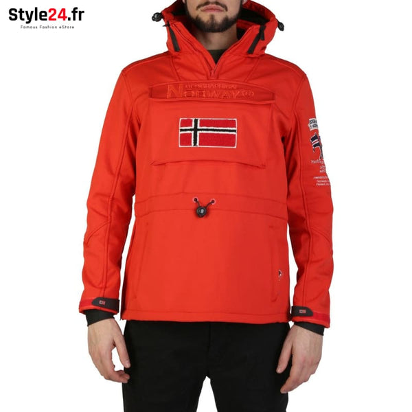Geographical Norway - Target_man Vêtements Vestes red / S -25% 50-100 Brand_Geographical brandsdistribution Category_Vêtements color-red