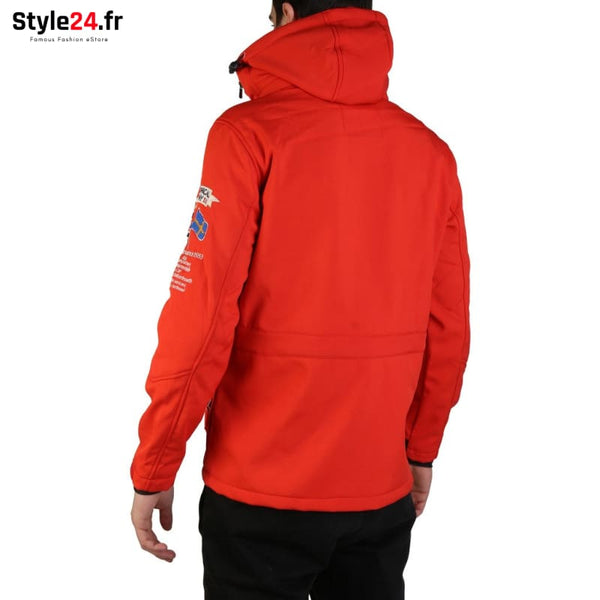 Geographical Norway - Target_man Vêtements Vestes 50-100 Brand_Geographical brandsdistribution Category_Vêtements color-red www.style24.fr