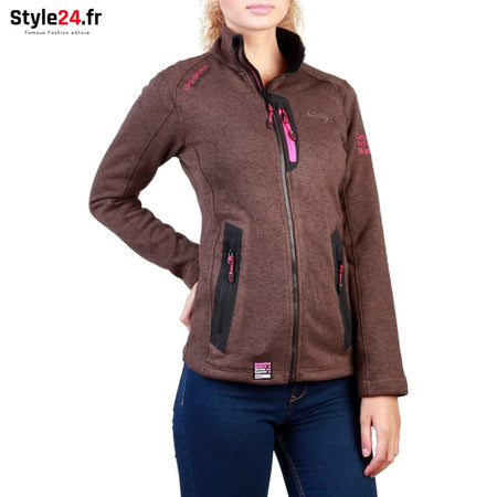Geographical Norway - Tazzera_woman Vêtements Sweat-shirts brown / 3 -65% 20-50 Brand_Geographical brandsdistribution Category_Vêtements