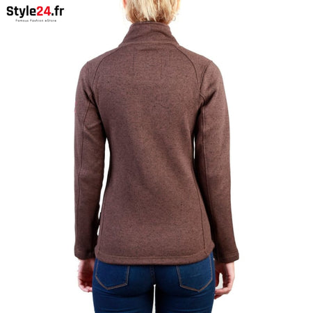 Geographical Norway - Tazzera_woman Vêtements Sweat-shirts 20-50 Brand_Geographical brandsdistribution Category_Vêtements color-brown