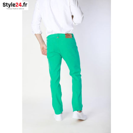 Jaggy - J1551T814-1M Vêtements Jeans Brand_Jaggy Category_Vêtements Color_Vert Gender_Homme jaggy www.style24.fr