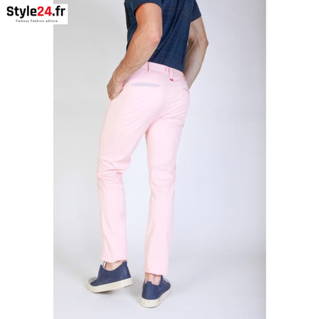 Jaggy - J1683T812-Q1 Vêtements Pantalons Brand_Jaggy Category_Vêtements Color_Rose Gender_Homme jaggy www.style24.fr