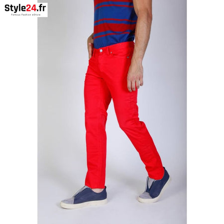Jaggy - J1883T812-Q1 Vêtements Pantalons red / 29 -85% Brand_Jaggy Category_Vêtements Color_Rouge Gender_Homme jaggy www.style24.fr