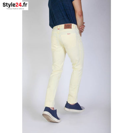Jaggy - J1883T812-Q1 Vêtements Pantalons Brand_Jaggy Category_Vêtements Color_Jaune Gender_Homme jaggy www.style24.fr