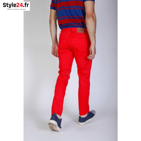 Jaggy - J1883T812-Q1 Vêtements Pantalons Brand_Jaggy Category_Vêtements Color_Rouge Gender_Homme jaggy www.style24.fr