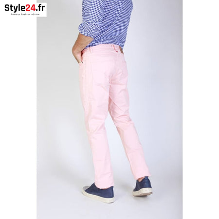 Jaggy - J1889T812-Q1 Vêtements Pantalons Brand_Jaggy Category_Vêtements Color_Rose Gender_Homme jaggy www.style24.fr