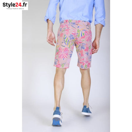 Jaggy - J2372T074-Q1 Vêtements Bermuda Brand_Jaggy Category_Vêtements Color_Rose Gender_Homme jaggy www.style24.fr